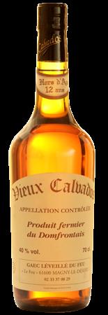 Calvados Hors d'âge 12 ans
